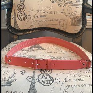 Talbots pink belt